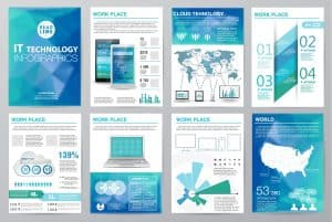 psychology of color in advertising blue web