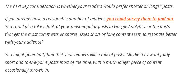 SEO content writing short paragraph