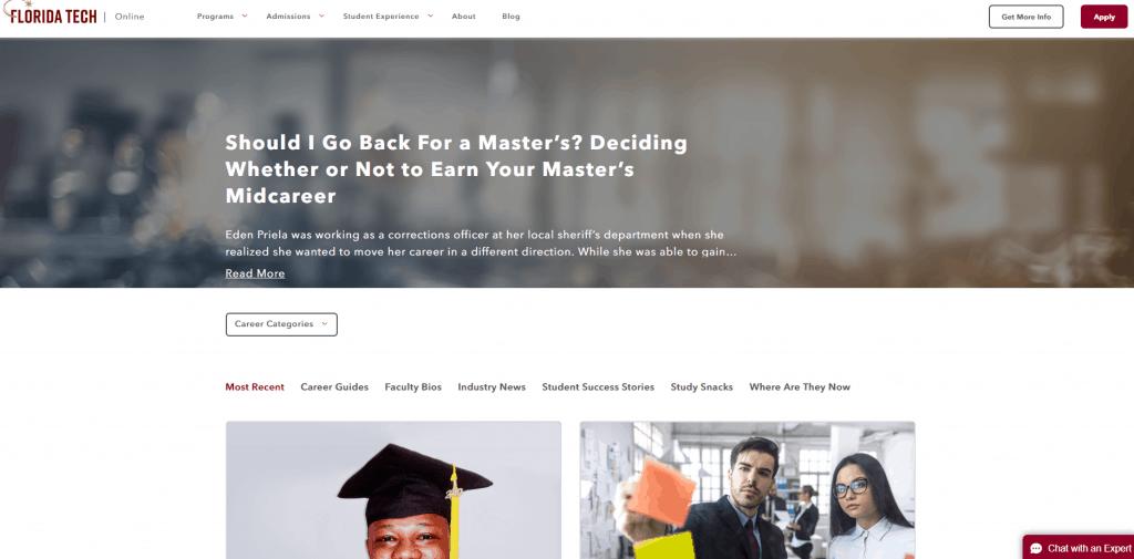 Higher Education SEO