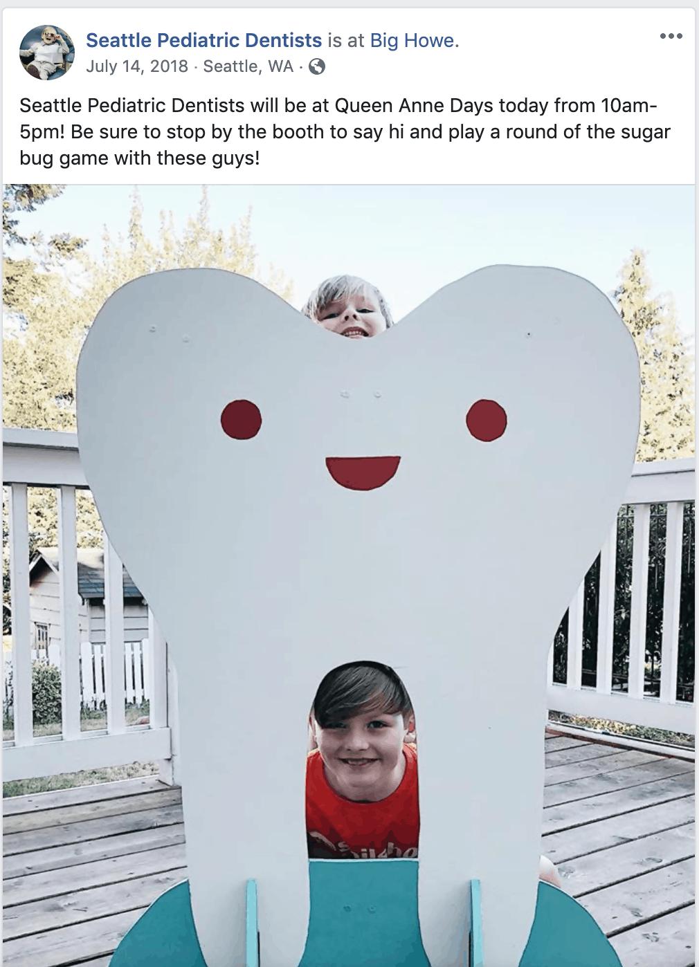 facebook marketing for dentists